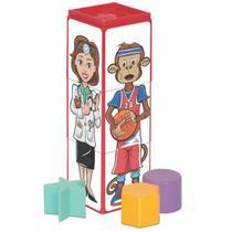 Brinquedo Cubinhos 4 em 1 Expressoes Mercotoys 419 -