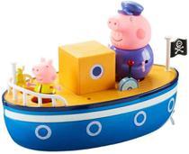 Brinquedo Da Peppa Pig - Barco Do Vovô Pig - Sunny