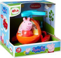 Brinquedo da peppa pig - helicóptero do desenho - elka -