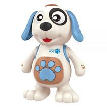 Brinquedo Dancing Dog Mexe Dança Luz E Som DmToys - Dm Toys