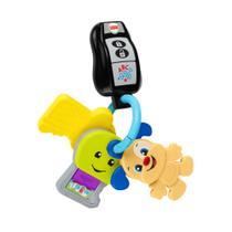 Brinquedo De Atividades - Chaveiro Com Luzes e Sons - Aprender e Brincar - Fisher-Price - Fisher Price