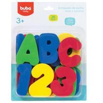 Brinquedo De Banho Letras E Números - Buba -