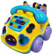 Brinquedo de Encaixar Carrinho Falafone - Calesita -