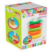 Brinquedo de Encaixe para Bebe Piramide Argolas Gulliver -