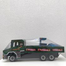 Brinquedo de madeira caminhão + trator 65cm - Lojas Do Banana