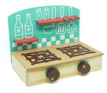 Brinquedo de Madeira Cooktop - Fogão de Brinquedo NewArt - New Art