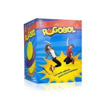 Brinquedo de Pular Pogobol Roxo e Verde Original Estrela -