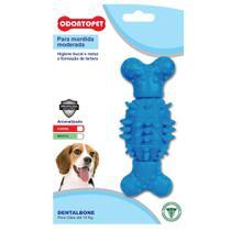 Brinquedo Dental Bone Spin Cães Mordida Moderada até 15 Kg Odontopet -