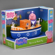 Brinquedo Desenho Peppa Pig Barco Do Vovô Pig Original DTC -