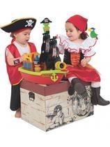 Brinquedo Didático Barco Aventura Pirata C/2 Bolas 424 - Mercotoys
