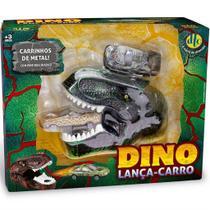 Brinquedo Dino Lança Carro Dinossauro Surpresa Dtc 5112 -