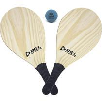 Brinquedo diverso raquete frescobol kit - BELFIX