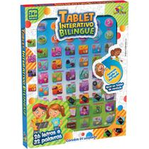 Brinquedo Diverso Tablet Interativo Bilingue 3 - GNA