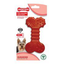 Brinquedo Dura Bone Flat Cães Mordida Forte 7 kg - Odontopet