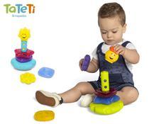 Brinquedo Educatico Didático Infantil Torre Lumina para Criança Tateti -