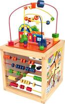 Brinquedo Educativo Aramado Casinha 5 Atividades - CARLU - Carlu Brinquedos