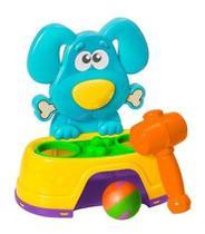Brinquedo Educativo Bate Martelo Dog Infantil Bebê Diversão Menino Menina - Dr,Baby