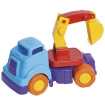 Brinquedo Educativo Bebê Caminhão Escavadeira Articulável Envio Rápido - Mercotoys