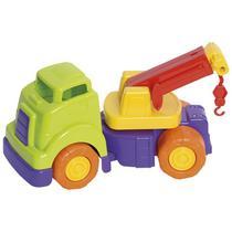Brinquedo Educativo Bebê Caminhão Guincho Articulável Envio Rápido - Mercotoys