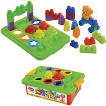 Brinquedo Educativo Caixa Educativa 31 Pecas - Dismat