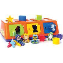 Brinquedo Educativo CAIXA-ENCAIXA a Partir de 1ANO - Estrela