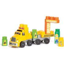 Brinquedo Educativo Construtor BABY LAND 25 Pecas - Cardoso toys