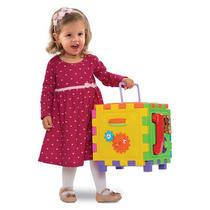 Brinquedo Educativo Cubo Didático Grande - Mercotoys