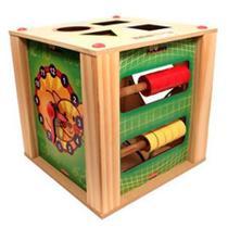 Brinquedo Educativo Cubo Multiatividades Carimbras -