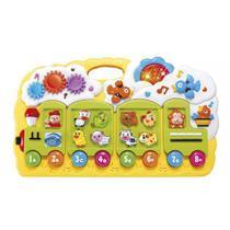 Brinquedo Educativo Didático Trenzinho Musical Som e Luzes - Dm Toys