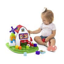 Brinquedo Educativo Fazendinha C/ Blocos Tateti Unidade -