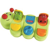 Brinquedo Educativo - Lagarta de Atividades - Fisher-Price - Mattel