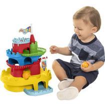Brinquedo educativo monta castelo c/ blocos unidade - TATETI