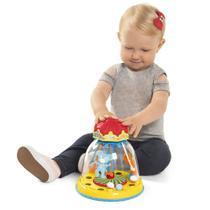Brinquedo Educativo Para Bebês Carrossel Mágico - Tateti -