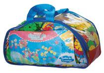 Brinquedo Educativo Peças Blocos De Montar Discos De Encaixe - Sonho De Criança