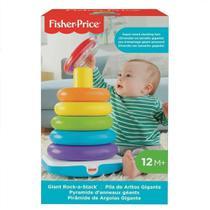 Brinquedo Educativo Pirâmide de Argolas Gigantes Fisher-Price - Mattel