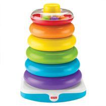 Brinquedo Educativo - Pirâmide de Argolas Gigantes - Fisher-Price - Mattel