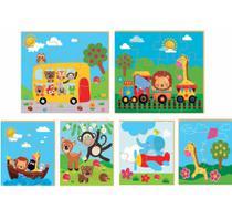 Brinquedo Educativo Quebra-cabeça Progressivo - Brincadeira De Criança