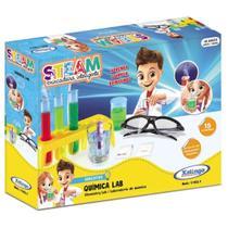 Brinquedo Educativo Steam Quimica Lab com Acessorios Xalingo -