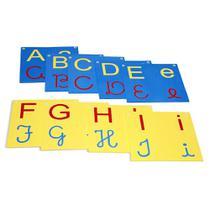 Brinquedo Educativo Varal De Letras/Alfabeto 4 Em 1 - Carlu brinquedos