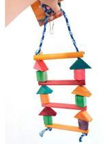 Brinquedo Escada P/ Calopsitas Periquitos E Papagaios - Master Dog