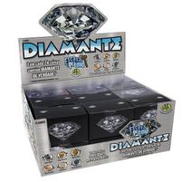 Brinquedo Escava Prêmio Diamante Caixa com  24 Unidades - Dtc