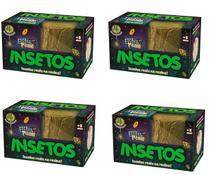 Brinquedo Escava Premio - Insetos Kit 4 unidades - Dtc