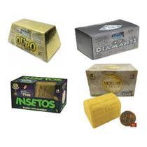 Brinquedo Escava Premio Kit Com 4 Unidades - Prisma