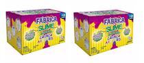 Brinquedo Fabrica De Slime Crunch Arco Íris Kit com 2 - Art Kids