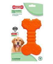 Brinquedo Flexi Bone Flat Cães Mordida Normal 22 kg - Odontopet