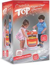 Brinquedo Fogão Chef Casinha Flor Top - Xalingo 04210 -