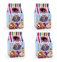 Brinquedo Frutinha Juicy Gloops Surpresa Kit com 4 Unidades - Dtc