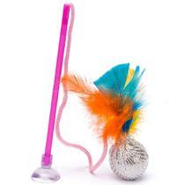 Brinquedo gato ping com varinha - Marca