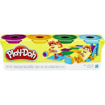 Brinquedo Hasbro Massinha Play Doh 4 Potes Sortidos b5517 -