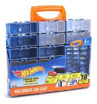 Brinquedo Hot Wheels Maleta Porta Carrinho Modular Fun 82664 -